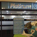 Indoor view of Platinum Credit.