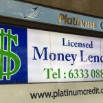 Street view of Platinum Credit.