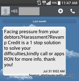 Loan Shark SMS - Debt Consolidation and Assistance