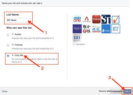 Facebook免费阅读新加坡新闻-List Name