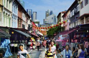 Chinatown Singapore by William Cho