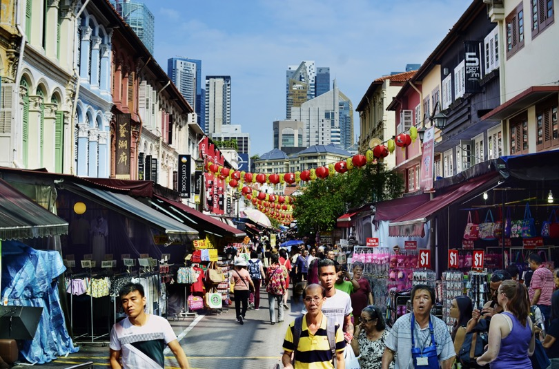 Chinatown Singapore by William Cho