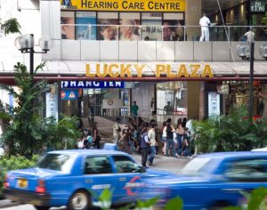 Lucky Plaza by Sam Sabapathy